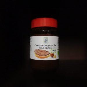 Crema avellana i garrofa 100% vegetal Bio Camí de l'Horta