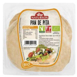 pa de pita Bio blanc