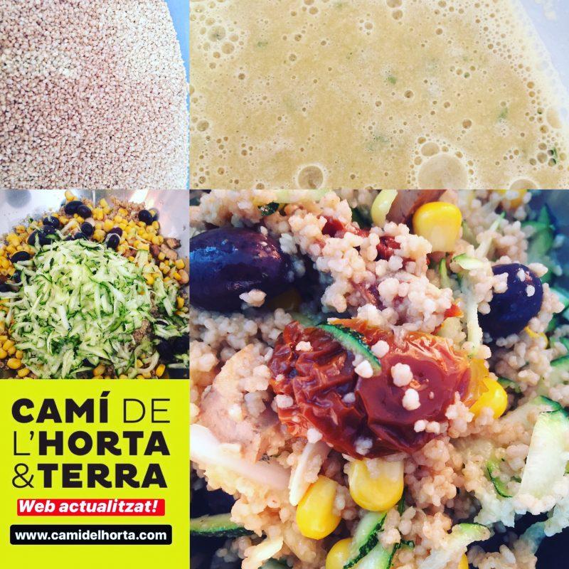 TABOULÉ de cítrics amb verdures Camí de l'Horta