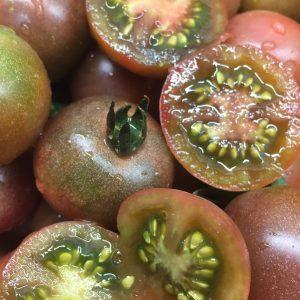 Tomata cherry negra Bio Camí de l'Horta